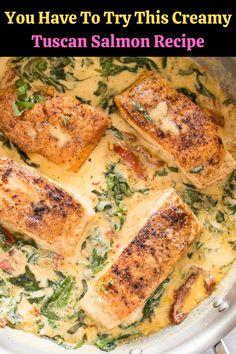 #Creamy #Tuscan #Salmon #Recipe