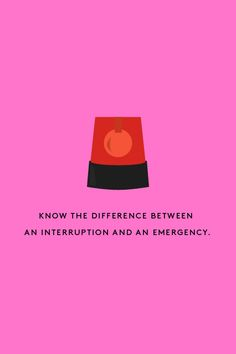 """15 Simple Moves That Will Change Your Career #refinery29  http://www.refinery29.com/work-life-productivity-tips#slide12  12. Know the difference between an interruption and an emergency.  This one's tricky. But, just because someone types """"EMERGENCY"""" in an email doesn't mean you should call the fire department. This is where thinking ahead saves you again. Take a second and think about the last few interruptions you dealt with at work. Now, ask yourself: Which were truly time-sensitive ..."""