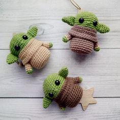 Updates from KnittedToyWorld on Etsy Updates from KnittedToyWorld on Etsy,Crocheting projects Related posts:Baby Alien - key chain pattern - Crochet key chain - yoda type doll - Amigurumi key… Kawaii Crochet, Cute Crochet, Crochet Crafts, Yarn Crafts, Crochet Projects, Crochet Ideas, Minion Crochet Patterns, Knitting Patterns, Knitting Toys