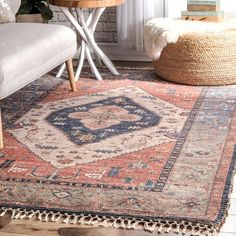 Shop nuLOOM Handmade Vintage Ornamental Area Rug - On Sale - Overstock - 25416396 - 6' x 9' - Multi Star Rug, Area Rugs For Sale, Buy Rugs, Rugs Usa, Jute Rug, Round Rugs, Cool Rugs, Contemporary Rugs, Rugs Online