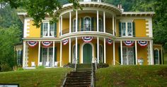 Hillforest Historic Mansion       Exploring Indiana's Historic Sites, Markers & Museums  South East Edition    Hillforest Historic Man...