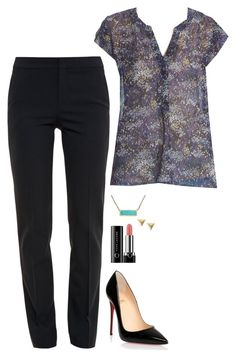 Felicity Smoak Inspired Outfit by daniellakresovic on Polyvore featuring polyvore fashion style Joie Chloé Christian Louboutin Marc Jacobs clothing