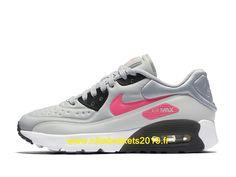 size 40 db82a 69997 Nike Air Max 90 Ultra SE Chaussures Nike Baskets 2019 Pas Cher Pour Femme  Gris Noir