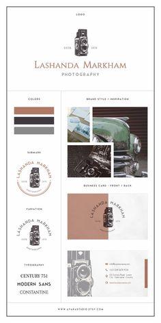 Branding Kit | Branding Package | Photography Logo| Branding Kit Design | Blog Branding Kit | Business Logo | Business Branding