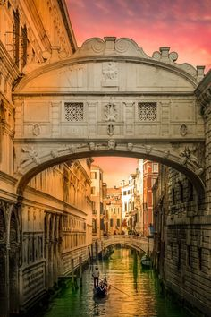 The Elegance and Beauty ~ of the Venice Canals, Italy