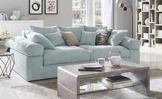 smart Big Sofa Lionore | Mint, Cordstoff | Höffner Big Sofas, Couch, Mint, Furniture, Design, Home Decor, Products, Decoration Home, Room Decor