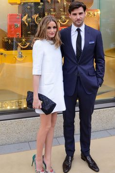 Olivia Palermo and Johannes Huebl - Louis Vuitton Store Opening, Frankfurt - May 6 2014