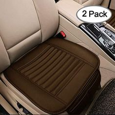 Black) Fit for Auto Supplies Home Office Chair(Single-seated Fochutech Heated Seat Cover Heated Seat Cushion Seat Heater and Seat Cooler Massage Cover Universal 12V Heating Pad Car Seat Warmers