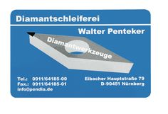 Ein anderes Design einer individuell gestalteten Visitenkarte aus Aluminium
