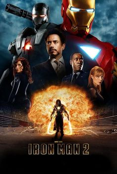 Get Iron Man 2 DVD and Blu-ray release date, trailer, movie poster and movie stats. The sequel Iron Man 2 made sure audiences didn't see that first film as a fluke. It reaffirmed that comeback kid Robert Downey Jr. was a charismatic film presence. Poster Marvel, Marvel Movie Posters, Mickey Rourke, Iron Man 2 2010, New Iron Man, Iron Man Dvd, Tony Stark, Iron Men, 2 Movie