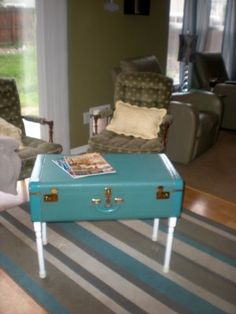 Suitcase Table Tutorial