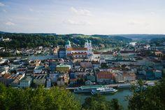 La jolie ville de Passau, en Bavière !