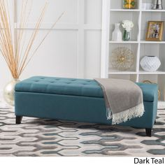 Mission Tufted Storage Ottoman Bench by Christopher Knight Home
