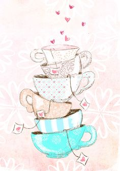 Find images and videos about pink, wallpaper and tea on We Heart It - the app to get lost in what you love. Cute Wallpapers, Wallpaper Backgrounds, Iphone Wallpaper, Tee Kunst, Buch Design, Photo Images, Illustration Mode, Make Pictures, Alice In Wonderland