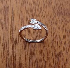 arrow ring, available @ faire frou frou