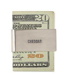 Jack Spade Cheddar Money Clip ($68)
