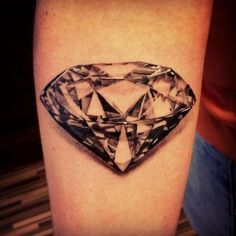 diamond tattoo, design, pictures, idea 7