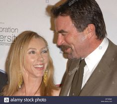 May 09, 2006; Los Angeles, CA, USA; Actor TOM SELLECK and wife JILLIE MACK  at the  Producers Guild 'Celebration of Diversity' event which took place at the Regent Beverly Wilshire Hotel, Beverly Hills.