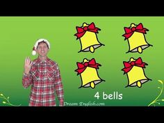 Let's have fun counting in this fun Christmas Song for Children. Visit http://www.dreamenglish.com/christmas for free christmas song downloads. This song is ...