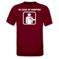 In Case Of Vampire T-Shirt