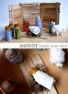 create your own nativity scene