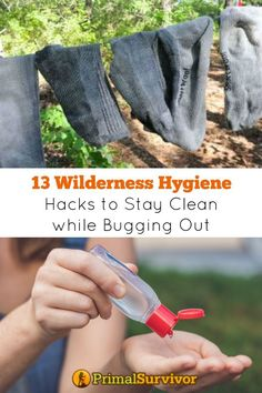 13 Wilderness Hygiene Hacks to Stay Clean while Bugging Out. Search Categories Popular Bushcraft Prepper's Emergency Dental Kit Checklist and Why You Need One 11 Doomsday Movies for Preppers to Watch 11 Simple Tips for Building a Better Bug Out Bag This I Survival Food, Homestead Survival, Wilderness Survival, Outdoor Survival, Survival Prepping, Survival Skills, Emergency Food, Survival Hacks, Camping Survival