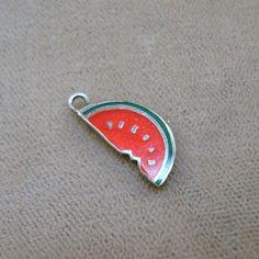 Vintage Watermelon Charm - Sterling Enamel 19.99 :(