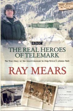 Real Heroes of the #telemark by Ray #Mears. Voorbereiding op de vakantie van dt jaar naar onder andere #Rjukan. Eén van de meest heroïsche verhalen over de tweede wereldoorlog de ik ooit heb gellezen. Absoluut een aanrader. Zie ook: https://www.youtube.com/watch?v=B8c7JgF_5Os   Gelezen: 27-06-2015