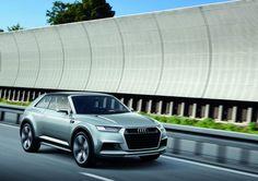 Audi mostra conceito Crosslane Coupé no Salão de Paris