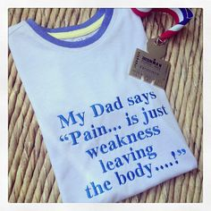 Triathlete Ironman inspired  children's T shirt at jellibabies personalised baby and children's clothes and accessories Berkshire UK