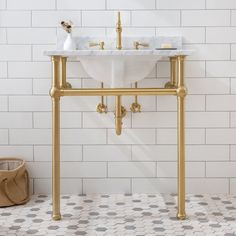 Bathroom decor, Bathroom decoration, Bathroom DIY and Crafts, Bathroom Interior design Console Sink, Wash Stand, Single Bathroom Vanity, Bathroom Vanities, White Bathroom, Simple Bathroom, Sinks, Modern Bathroom, Bathroom Interior