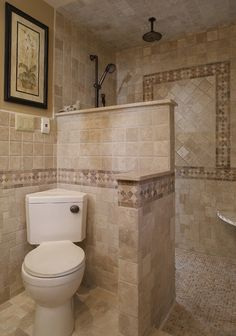 bathrooms with corner comodes | Don't let your bathroom corners be a washout. Shelves, fixtures and ...