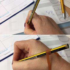 Endlich Pause 2.0: Tipp für bessere Stifthaltung