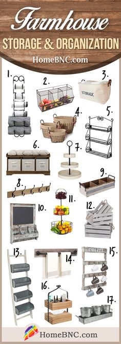 Farmhouse+Storage+and+Organization+Ideas
