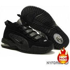bc16c9395b Nike Air Max Penny 1 Black Ripstop Penny Hardaway Sneakers, Air Jordan 9,  Air