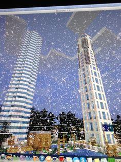 Minecraft Cultural Complex Minecraft Buildings, Amazing Architecture, Skyscraper, Multi Story Building, Ideas, Minecraft Architecture, Skyscrapers, Thoughts
