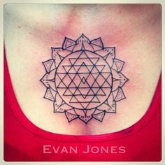 sri yantra tattoo mandala - Google Search
