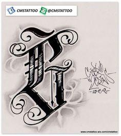 CMS Tattoo 2016 (Sckrita - G) > #Letteringlogo #letteringtattoo…