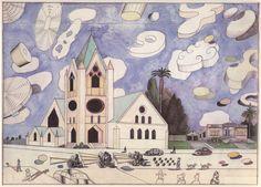 ILLUSTRATION ART: STEINBERG'S CLOUDS