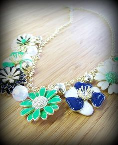 "In Bloom Necklace $15 18"" + 3"" Extender www.jonesburch.com"