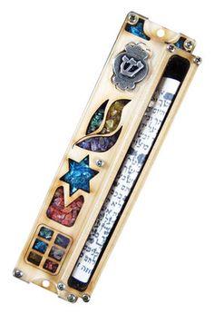 Details about DOOR ENTRY Mezuzah Jewish Home decor JUDAICA ...