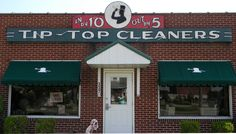 Tip Top Cleaners Real Model, Urban Life, Advertising Signs, Bright Lights, Store Fronts, Dry Cleaning, Pennsylvania, Buildings, Neon