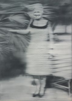 Gerhard Richter » Art » Paintings » Photo Paintings » Mrs Niepenberg » 86