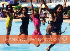 Yep, they're jumping for joy! Thank you dear W4 friends for your donations to provide a safe shelter for vulnerable girls from poor communities in Cambodia. It's not too late to donate and please do help us spread the word about this fundraiser!
