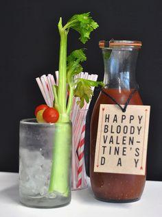 Happy Bloody Valentine's Day: DIY Bloody Mary Mix