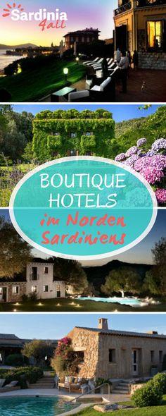 Gemütliche, kleine Hotels und Boutique Hotels auf Sardinien. Wir haben die schönsten Hotels im Norden von Sardinien für Sie zusammengestellt