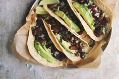 Classic Beans and Greens Tacos with Kale and Avocado recipe on Food52