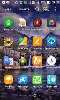 Blog Tugas Sekolah Tutorial Membuat Aplikasi Android Biodata Dan Tab Aplikasi Android