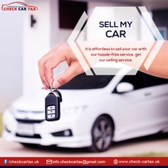 If you have always worried about frauds and avoided #selling your car then worry no more, sell my car has got your back. With Check Car #Tax you will have obstruction #free deals. We promise to make the adequate deal suited to your #car available.  #sellmycar #sellyourcar #checkcartax #freecarcheck