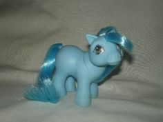 Blue Baby Ember. Mail order pony. Year 2. 1983-84.